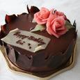 愛のバラのケーキ(特注)